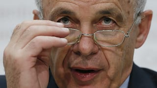 Bundespräsident wirbt für Schweizer Weg beim Umweltschutz