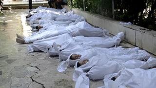 Zweifel an Giftgas-Einsatz in Syrien