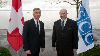 Doppelrolle für Didier Burkhalter 2014