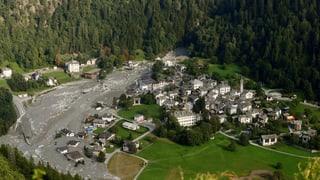 Der Bergsturz und die Murgänge vom August 2017 haben in der Region Bondo Schäden von etwa 41 Millionen Franken verursacht.