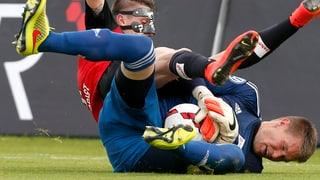 Darum tragen die Super-League-Goalies keinen Unterleib-Schutz
