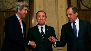 Wenig Hoffnung auf Erfolg an Syrien-Friedenskonferenz