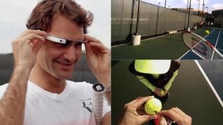 Einblick in Federers Ausblick: So sieht der Tennis-Star die Welt