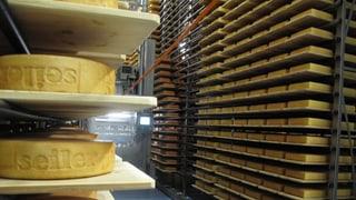 «So oder andersch»: Statt Munition lagern hier Käselaibe