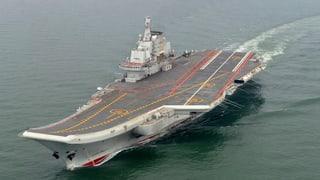 Chinesischer Flugzeugträger provoziert Taiwan