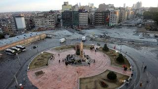 Ist es vorbei auf dem Taksim-Platz?