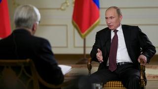 Putin zu Kerry: «Sie lügen wunderschön»