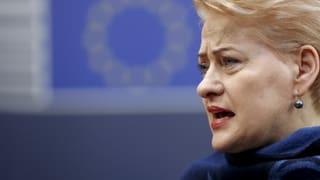 Dalia Grybauskaite – die neue «Eiserne Lady» Europas