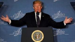 Trump macht ernst – mit Ausnahmen