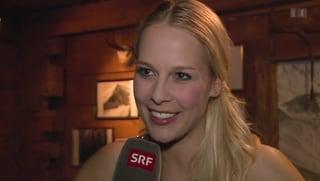 Linda Fäh: «Ich bin privat sehr glücklich»