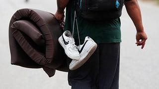America dal Sid – USA: Emprims migrants arrivads a Mexico Citad