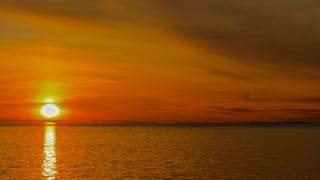 Frühester Sonnenaufgang des Jahres