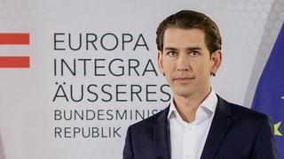 Österreichischer Aussenminister fordert Neuwahlen