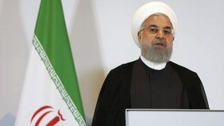 Harsche Reaktion aus Teheran