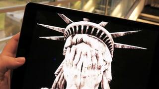 Präsident Trump: Ein Schreckensbild in den sozialen Medien