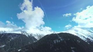 35 Minuten Schwerelosigkeit über dem Gotthard-Massiv in 360°