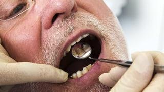 Mundhygiene kommt im Pflegezentrum oft zu kurz