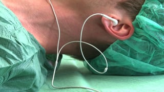 Musik wirkt gegen Schmerzen