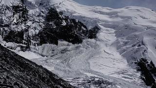 Auch der Rest der Gletscherzunge abgebrochen