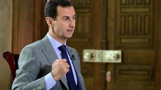 Assad: «Wir müssen diese Terroristen von Aleppo loswerden»