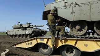 Israel nach Angriff auf Syrien in Alarmbereitschaft