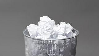BZO: Keine Planung mehr für den Papierkorb
