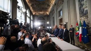 Die Regierungskoalition steht – mit Conte an der Spitze
