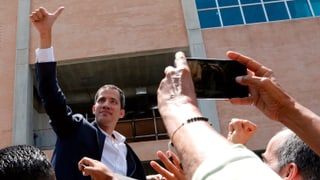 Guaidó ist zurück in Caracas