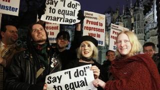 Britisches Unterhaus stimmt für Homo-Ehe