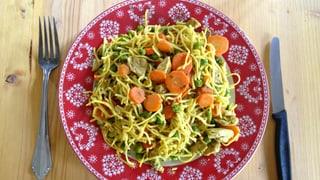 Wochenrezept 6: «Currynüdeli» nach Schwägerin Änne