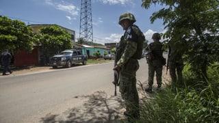 Mexiko stationiert 15'000 Sicherheitskräfte an der US-Grenze