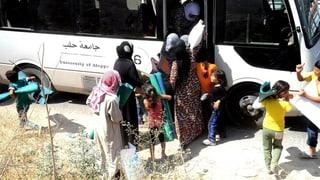 Siria: Blers civilists sin la fugia