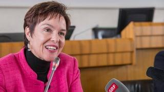 Monica Gschwind steht zu einer Volluniversität Basel
