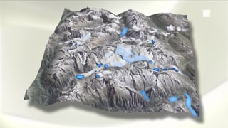 Hunderte neue Seen nach der Gletscherschmelze