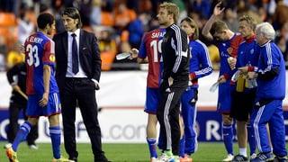Basel verliert in Valencia klar und scheidet aus