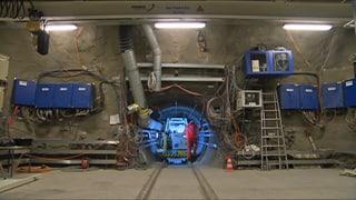 Atommüll-Endlager: Nagra testet in einem Felslabor