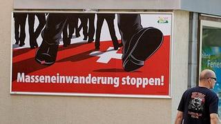 Deutliches Nein zur Zuwanderungsinitiative der SVP