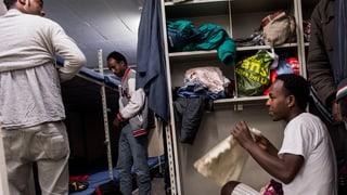 Rund 7000 Asylsuchende leben in unterirdischen Zivilschutzanlagen