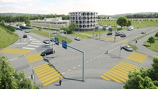Umstrittenes Bauprojekt beim Autobahn-Anschluss Lenzburg