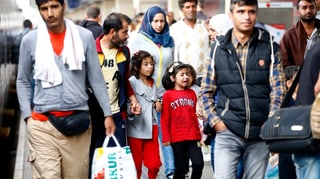 3000 Flüchtlinge in Deutschland angekommen