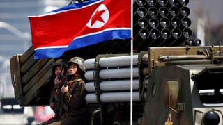 Nordkorea hat geheime Atom-Stützpunkte eingerichtet