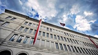 Die Schweizerische Nationalbank ist in einer ungemütlichen Lage