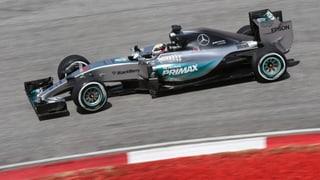 Pole Position für Hamilton - Ericsson auf Startplatz 9