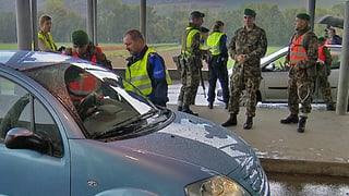 Armee bereit für einen Grenzschutz-Einsatz