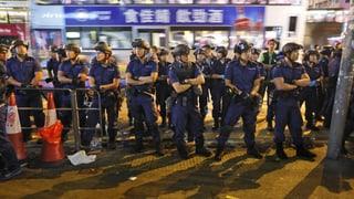 Wieder Krawall und Festnahmen in Hongkong