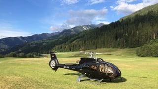 Critica vers heliports en Lumnezia-sut