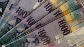 100'000 Franken spalten das Parlament
