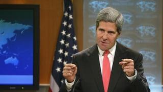 Kerry pocht auf schnelles Handeln in Syrien