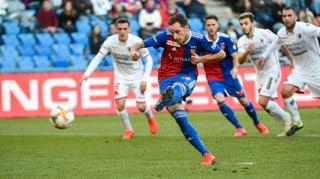Basel schlägt Sion dank einem umstrittenen Elfmetertreffer