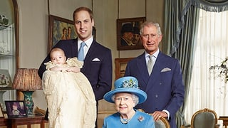Offizielle Fotos von Prinz Georges Taufe veröffentlicht